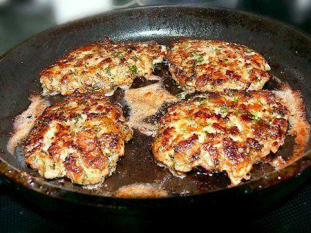Рубленые отбивные котлеты.  Рецепты.  Блюда из мяса.