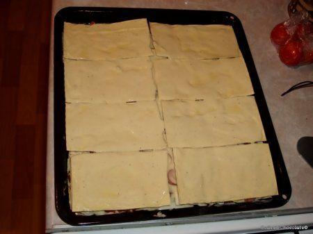 Как сделать листы для лазаньи рецепт с фото