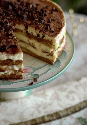 Торт из маскарпоне без выпечки