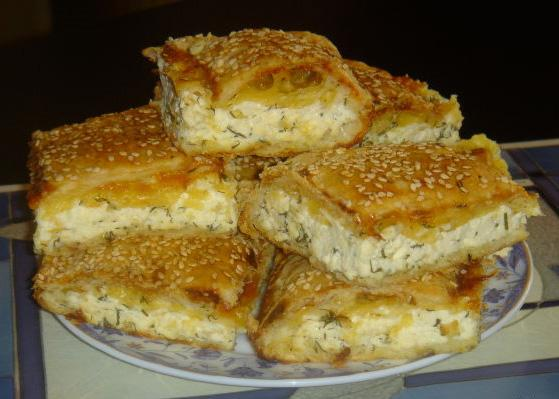Пирог с сыром вкусные рецепты 2015 с