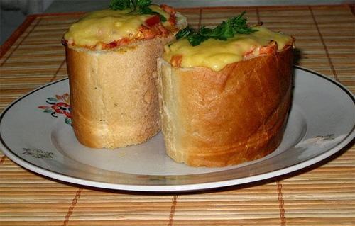 Ленивый бутерброд
