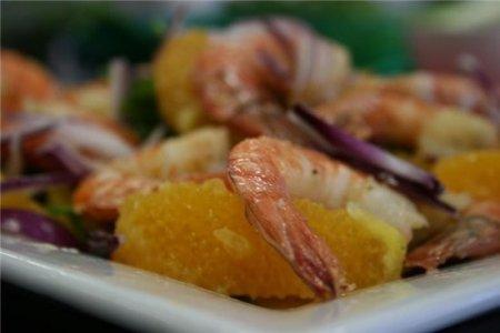 Рецепт ригатони с креветками и овощами