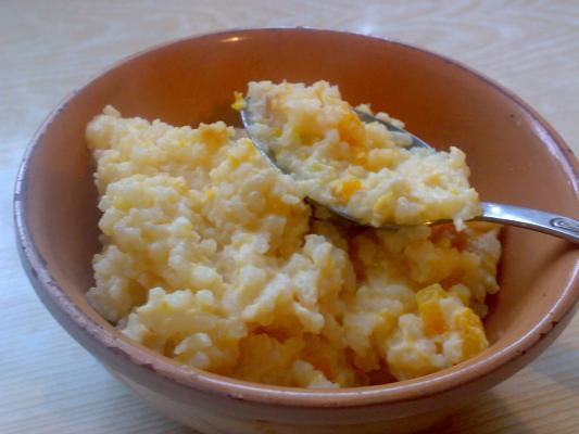 рецепты каши рисовой с тыквой в духовке
