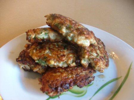 Рецепт куриных оладушек
