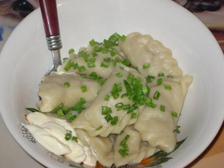 Рецепт пельменей с капустой