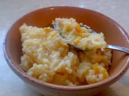 Рецепт рисовой каши с тыквой и яблоками