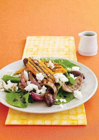 Рецепт гриль-салата из тыквы