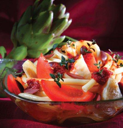 Рецепт пряной пасты с томатами