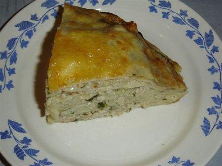 Рецепт блинчатого «торта»