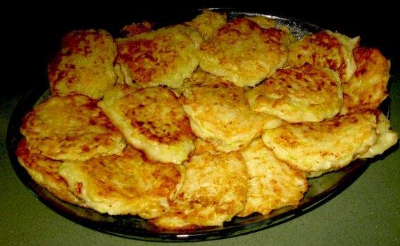 Блинчики из кабачков рецепт пошагово на сковороде