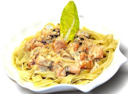 Новогодний рецепт лапши с морепродуктами