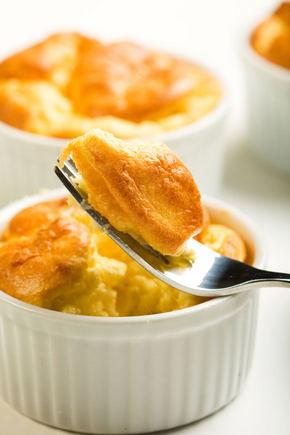 Новогодний рецепт суфле из апельсинов