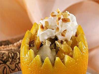 Новогодний рецепт апельсиновых корзиночек