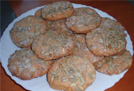 Рецепт печенья с семечками