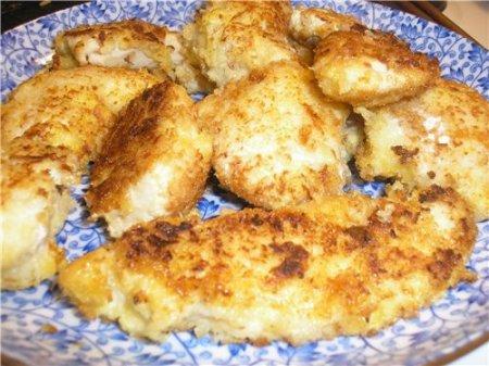 Новогодний рецепт курицы в сыре