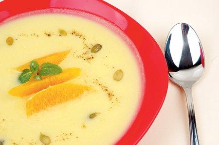 Новогодний рецепт апельсинового супа-пюре