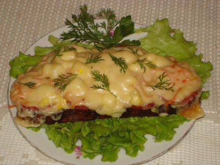 Новогодний рецепт бутербродов с крабовыми палочками