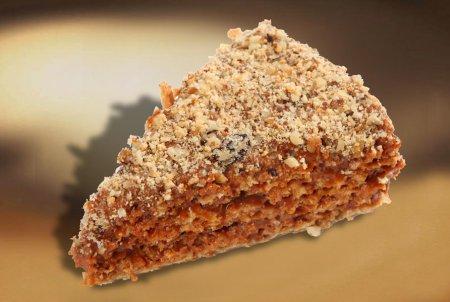 Рождественский рецепт орехового торта