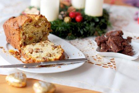 Рождественский рецепт кекса