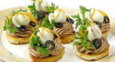 Рецепт на 14 февраля - тортики с перепелиными яйцами