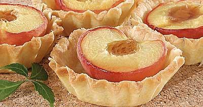 Рецепт на 14 февраля - розетки с фруктовой начинкой