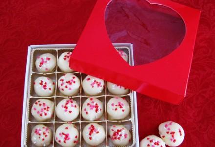 Рецепт на 14 февраля - Белые шоколадные трюфели