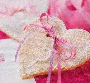 Рецепт на День Святого Валентина - Съедобные валентинки