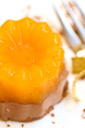 Рецепт на День всех влюблённых- Апельсиново – шоколадное желе