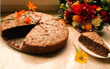 Рецепт на День всех влюблённых - Шоколадный торт «Два ореха»