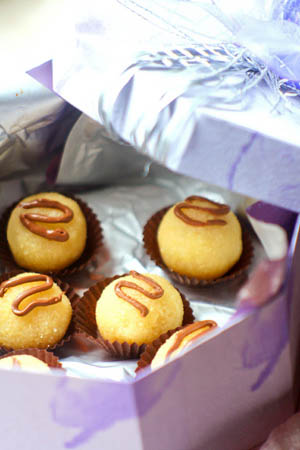 Рецепт на 14 февраля - Миндальные конфеты