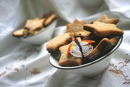 Рецепт на 14 февраля - Бананово – медовое печенье