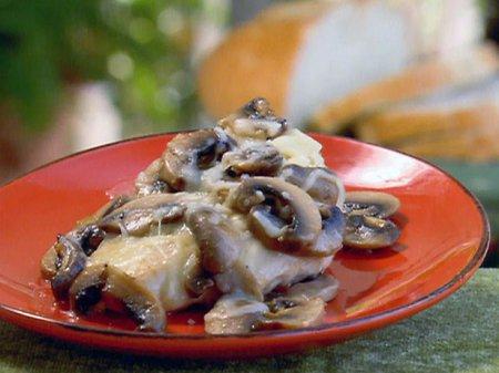 Рецепт на Старый Новый год курицы с грибами и медом