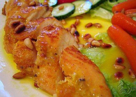 Рецепт на 14 февраля - Грудки курицы в меду