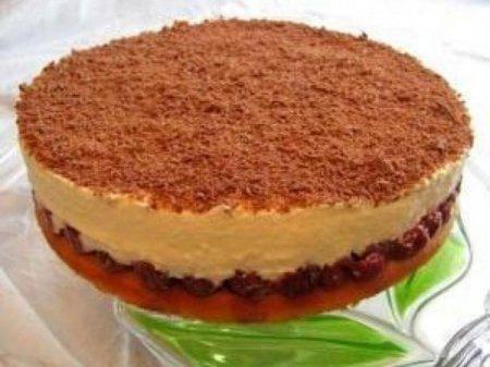 Рецепт на 14 февраля - Вишнёвый пирог «Наслаждение»