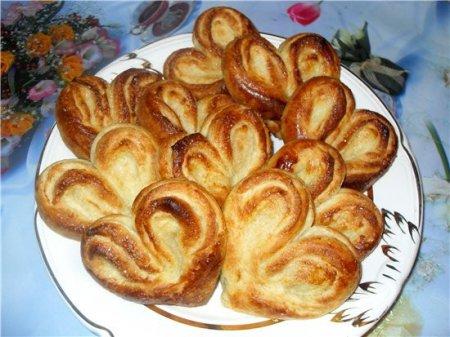 Рецепт на 14 февраля - Плюшки- сердечки