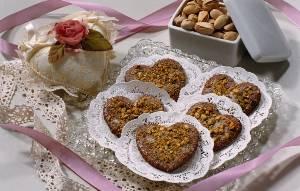 Рецепт на День всех влюблённых - Шоколадные печенья в форме сердец