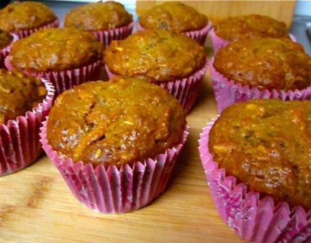 Рецепт на 14 февраля - Морковные кексы для влюблённых