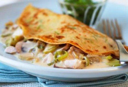 Рецепт блинов с грибами и болгарским перцем – рецепт блинов на Масленицу