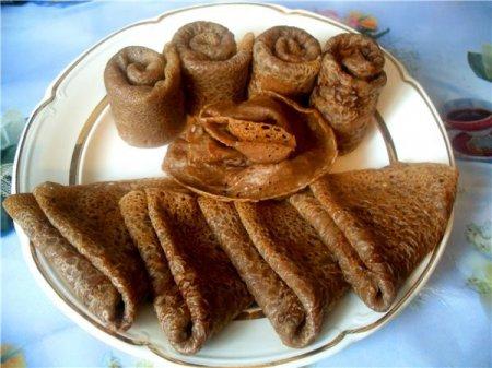 Рецепт фигурных десертных блинчиков с творогом и шоколадом - рецепт блинов на Масленицу
