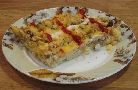 Рецепт овощной запеканки с тунцом