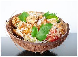 Рецепт салата с ананасом и креветками