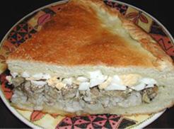 Рецепт пирога со шпротами