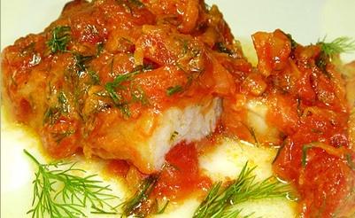 Рецепт рыбы, тушенной с горчицей