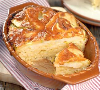 Рецепт картофельной запеканки с кабачками