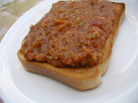 Рецепт паштета из запеченных баклажанов с ореховым соусом