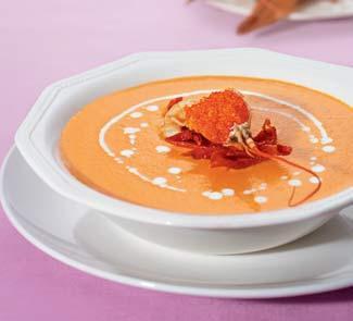 Рецепт суп-крема из раков