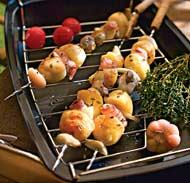 Рецепт шашлыка из овощей и грибов