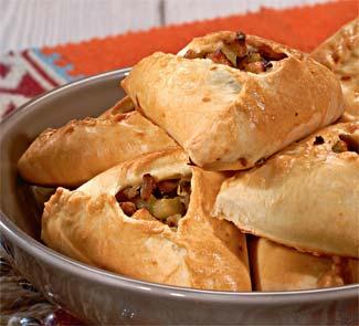 Рецепт пирожков со свининой и картофелем