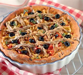 Рецепт французского лукового пирога