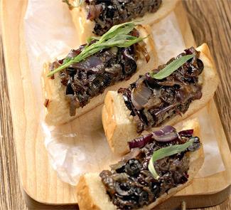 Рецепт хлеба с карамелизованным луком